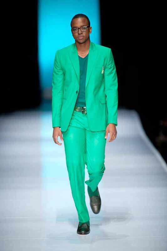 WALKING THE CATWALK: Masego Maponyane doing what he does best. Photo: Provided