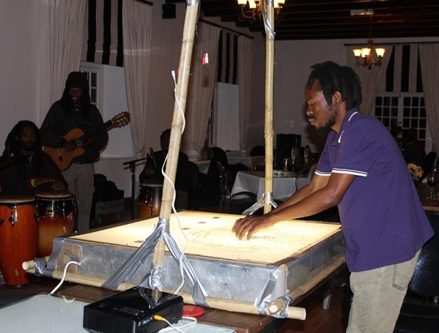 The entertainment on the first day of the radio conference at the welcome evening. Photo: Prelene Singh
