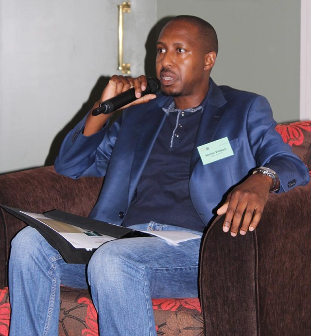 Martin Vilakazi from Metro fm joined the panel discussion around the question whether radio will survive in the new music platforms being introduced. Photo: Prelene Singh