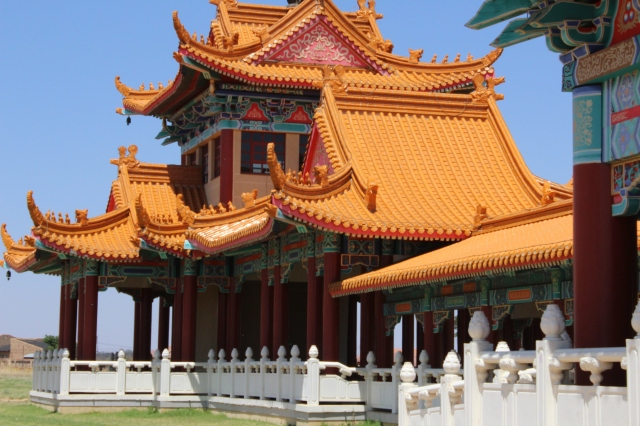 Buddhist Temple in Bronkhorspruit. Photo: Prelene Singh